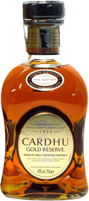 29,95 € Free Shipping | Whisky Single Malt Cardhu Gold Reserve Reserva United Kingdom Bottle 70 cl