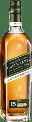 46,95 € Free Shipping | Whisky Single Malt Johnnie Walker 15 Años United Kingdom Bottle 70 cl