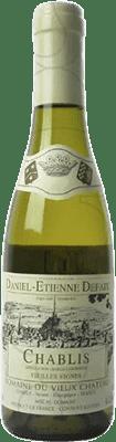 15,95 € Free Shipping | White wine Domaine Daniel-Etienne Defaix Vieilles Vignes Crianza A.O.C. Chablis France Chardonnay Half Bottle 37 cl