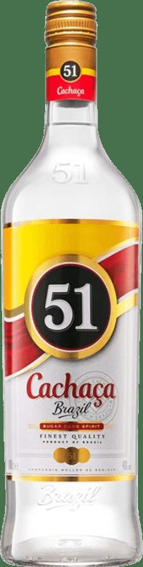 12,95 € Kostenloser Versand | Cachaza Marie Brizard Cachaça 51 Brasilien Rakete Flasche 1 L