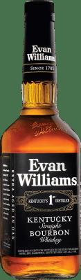 13,95 € Envío gratis | Bourbon Marie Brizard Evan Williams Estados Unidos Botella 70 cl