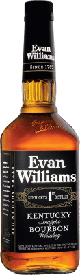 15,95 € Free Shipping | Bourbon Marie Brizard Evan Williams United States Bottle 70 cl
