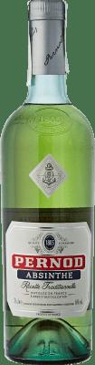 36,95 € Envío gratis | Absenta Pernod Francia Botella 70 cl