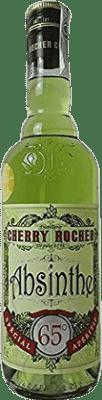 23,95 € Envío gratis | Absenta Cherry Rocher Francia Botella 70 cl