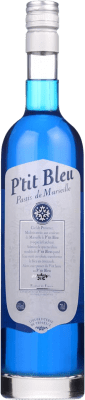 16,95 € Free Shipping | Pastis Petit Bleu France Bottle 70 cl
