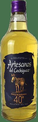 15,95 € Envío gratis | Pisco Artesanos del Cochiguaz Chile Botella 70 cl