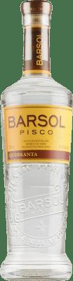 27,95 € Envío gratis | Pisco San Isidro Barsol Primero Quebranta Perú Botella 75 cl