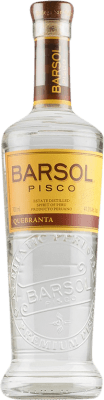 27,95 € Kostenloser Versand | Pisco San Isidro Barsol Primero Quebranta Peru Flasche 75 cl