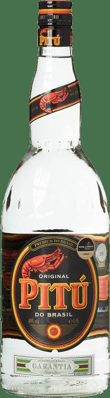 13,95 € Kostenloser Versand | Cachaza Pitú Brasilien Rakete Flasche 1 L