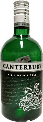 16,95 € Free Shipping | Gin Canterbury Spain Bottle 70 cl