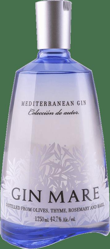 59,95 € Envoi gratuit   Gin Gin Mare Espagne Bouteille Magnum 1,75 L