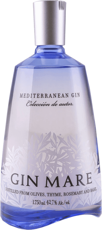 59,95 € Free Shipping | Gin Gin Mare Spain Magnum Bottle 1,75 L