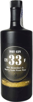 37,95 € Free Shipping | Gin In 33 F Gin Spain Bottle 70 cl
