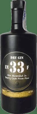 31,95 € Kostenloser Versand | Gin In 33 F Gin Spanien Flasche 70 cl
