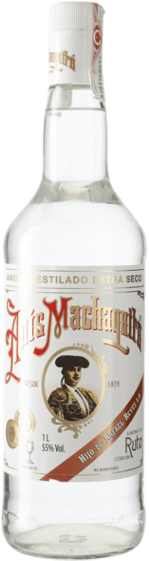 14,95 € Free Shipping | Aniseed Anís Machaquito Dry Spain Missile Bottle 1 L