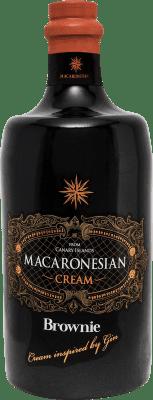 21,95 € Envío gratis | Crema de Licor Macaronesian Brownie Cream España Botella 70 cl