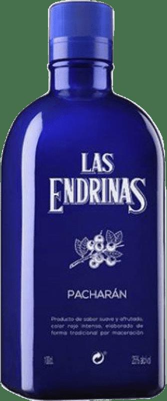 12,95 € Kostenloser Versand | Pacharán Las Endrinas Spanien Rakete Flasche 1 L