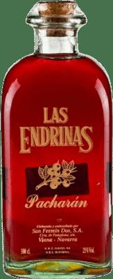 48,95 € Envío gratis | Pacharán Las Endrinas España Botella Jeroboam-Doble Mágnum 3 L