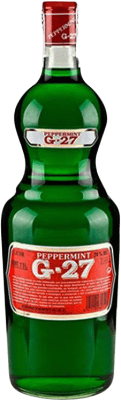 11,95 € Free Shipping | Spirits Salas Verde G-27 Pippermint Spain Missile Bottle 1 L