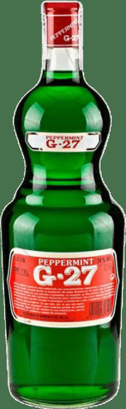 13,95 € Kostenloser Versand | Liköre Salas Verde G-27 Pippermint Spanien Magnum-Flasche 1,5 L