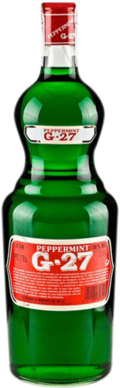 15,95 € Free Shipping | Spirits Salas Verde G-27 Pippermint Spain Magnum Bottle 1,5 L