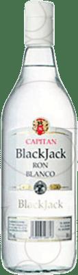 8,95 € Free Shipping | Rum Black Jack Blanco Spain Missile Bottle 1 L