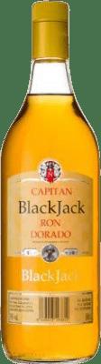 8,95 € Free Shipping | Rum Black Jack Dorado Añejo Spain Missile Bottle 1 L
