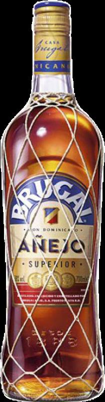 42,95 € Free Shipping | Rum Brugal Añejo Dominican Republic Jéroboam Bottle-Double Magnum 3 L