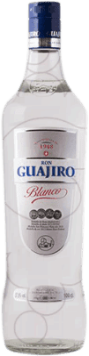 14,95 € Free Shipping | Rum Guajiro Blanco Spain Missile Bottle 1 L