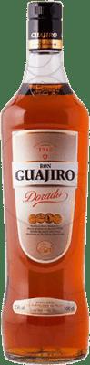 14,95 € Free Shipping | Rum Guajiro Dorado Spain Missile Bottle 1 L