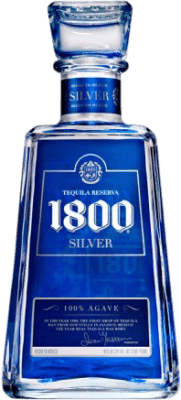 26,95 € Free Shipping | Tequila 1800 Silver Blanco Mexico Bottle 75 cl
