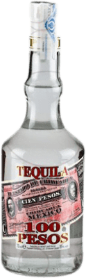 9,95 € Free Shipping | Tequila Cien Pesos Blanco Mexico Bottle 70 cl