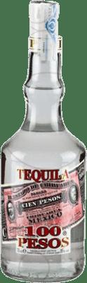9,95 € Envoi gratuit | Tequila Cien Pesos Blanco Mexique Bouteille 70 cl