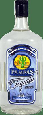 11,95 € Envoi gratuit | Tequila Pampas Silver Blanco Mexique Bouteille 70 cl
