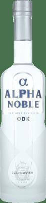 14,95 € Envío gratis | Vodka Alpha Noble Francia Botella 70 cl