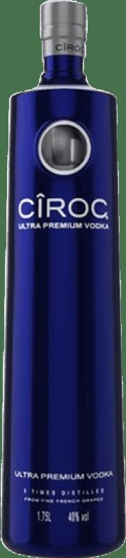 85,95 € Free Shipping | Vodka Cîroc Led Light France Magnum Bottle 1,75 L