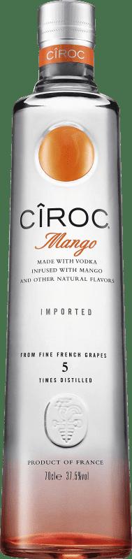 31,95 € Free Shipping | Vodka Cîroc Mango France Bottle 70 cl