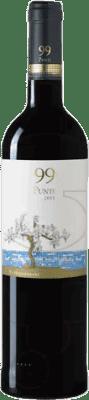 9,95 € 免费送货   红酒 99 Punts D.O. Empordà 加泰罗尼亚 西班牙 Syrah, Grenache 瓶子 75 cl
