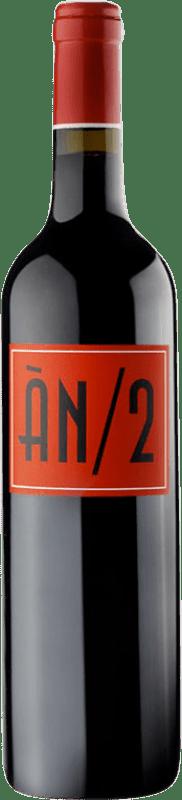 17,95 € Free Shipping | Red wine Ànima Negra An/2 Crianza I.G.P. Vi de la Terra de Mallorca Balearic Islands Spain Syrah, Callet, Fogoneu, Mantonegro Bottle 75 cl