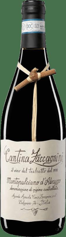 8,95 € Free Shipping | Red wine Zaccagnini Crianza Otras D.O.C. Italia Italy Montepulciano Bottle 75 cl
