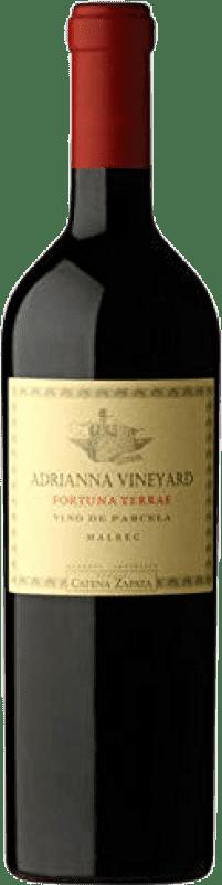 84,95 € Envío gratis | Vino tinto Catena Zapata Adrianna Vineyard Fortuna Terrae Argentina Malbec Botella 75 cl