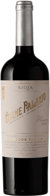 21,95 € Envoi gratuit | Vin rouge Palacio Cosme Palacio Reserva D.O.Ca. Rioja La Rioja Espagne Tempranillo Bouteille 75 cl