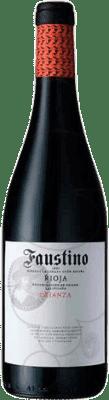 13,95 € Free Shipping | Red wine Faustino Crianza D.O.Ca. Rioja The Rioja Spain Tempranillo Magnum Bottle 1,5 L