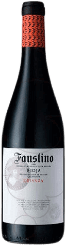 13,95 € Envoi gratuit | Vin rouge Faustino Crianza D.O.Ca. Rioja La Rioja Espagne Tempranillo Bouteille Magnum 1,5 L