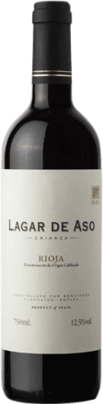 4,95 € Free Shipping | Red wine Lagar de Aso Crianza D.O.Ca. Rioja The Rioja Spain Tempranillo Bottle 75 cl