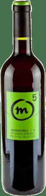 7,95 € 免费送货   红酒 M5 Crianza 2007 D.O. Yecla Levante 西班牙 Monastrell 瓶子 75 cl