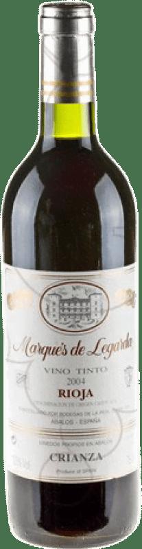 9,95 € Spedizione Gratuita | Vino rosso Marqués de Legarda Crianza D.O.Ca. Rioja La Rioja Spagna Bottiglia 75 cl