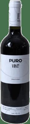 7,95 € Free Shipping | Red wine Puro vino Ecológico Crianza D.O.P. Vino de Calidad de Valtiendas Castilla y León Spain Bottle 75 cl