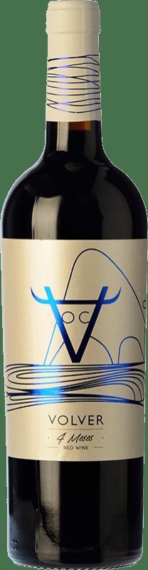 7,95 € Envío gratis | Vino tinto Volver Roble D.O. La Mancha Castilla la Mancha y Madrid España Tempranillo Botella 75 cl