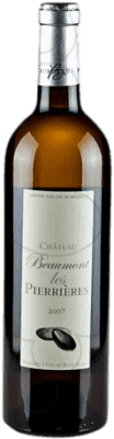9,95 € Envoi gratuit | Vin blanc Château Beaumont Les Pierrieres Crianza A.O.C. Bordeaux France Bouteille 75 cl